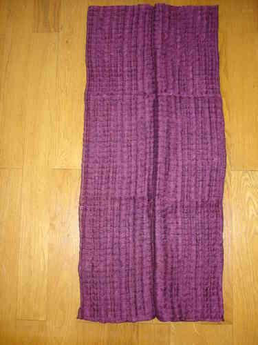 Echarpe en soie et mohair violette - soiedelyon.com ae768e519b6